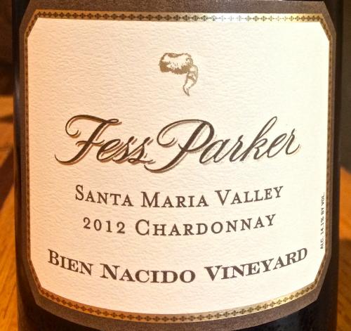 Fess Parker Bien Nacido Chardonnay