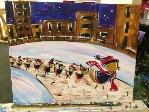 Paint Bar Ducklings