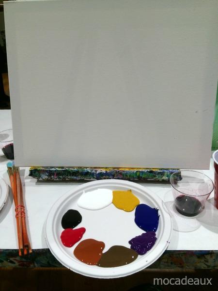 Paint Bar clean canvas