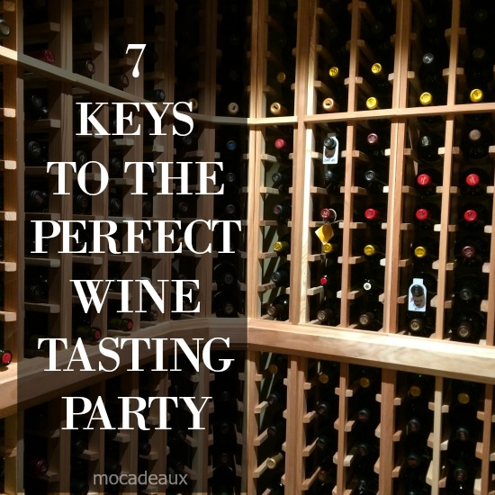 7 keys to perfect wine tasting party