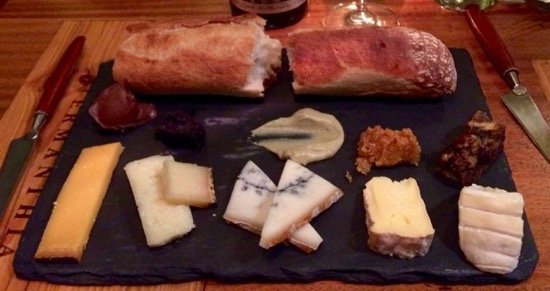 Bar Pastorale Cheese Plate