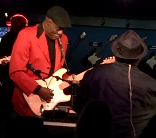 Buddy Guy on stage
