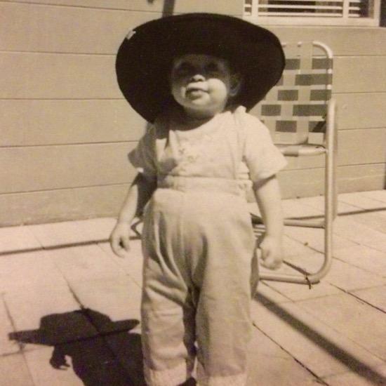 My childhood as Zorro