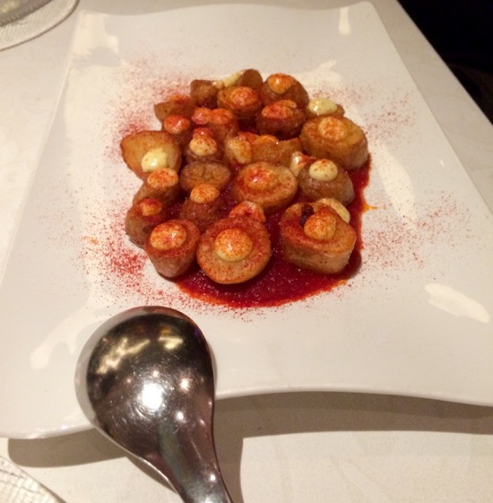 Jaleo patatas bravas Las Vegas Food Adventure