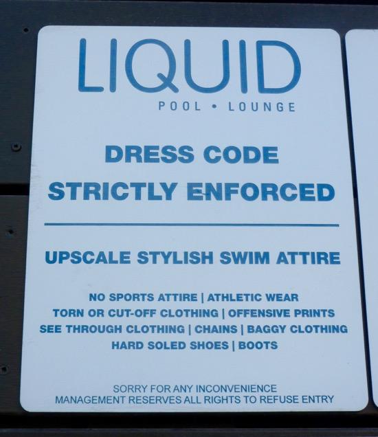 Aria Liquid pool