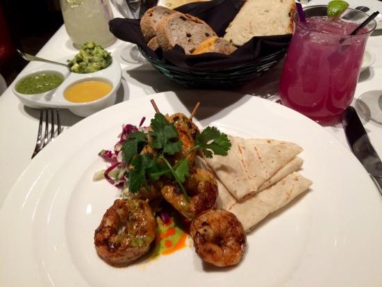 Mesa Grill shrimp tacos Las Vegas Food Adventure