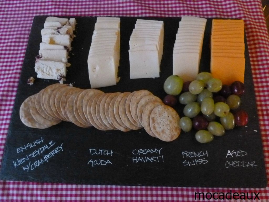 wine tasting party cheese plate