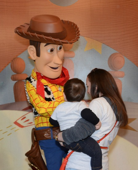 Andy meeting Woody