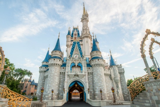 Disney World Cinderella's Castle