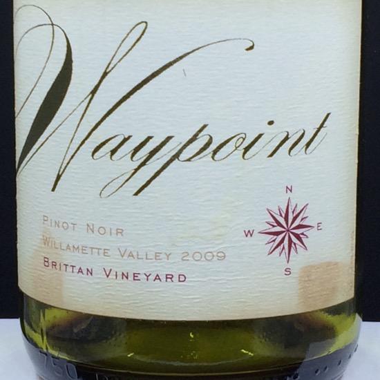 2009 Waypoint Pinot Noir