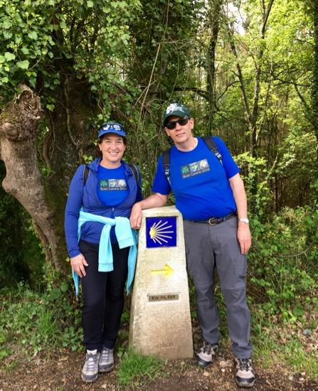 Camino day one