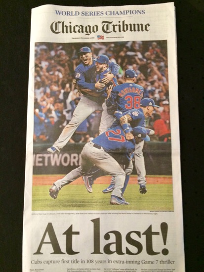 Chicago Cubs World Champions