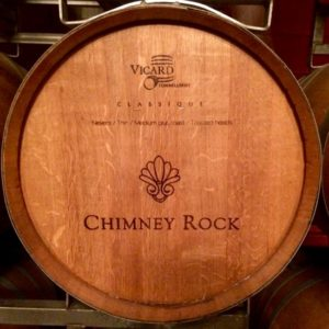 Chimney Rock Winery barrel