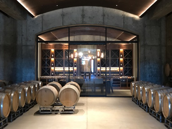 Law Estate barrel room