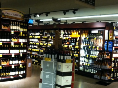 Wine at the Grocery Store