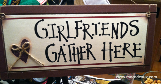 Girlfriends Gather Here