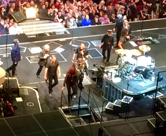 E Street Band leaves stage