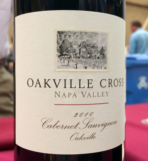 Mocadeaux - Family Winemakers of California 2016 wine tasting event Oakville Cross