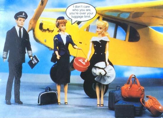 Mocadeaux - Carry-on luggage etiquette