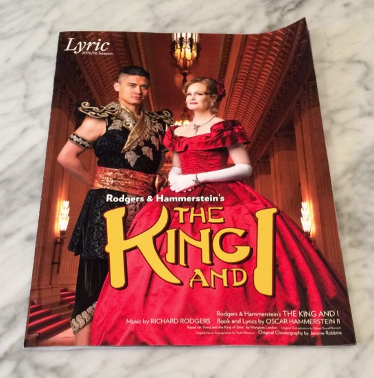 The King and I program