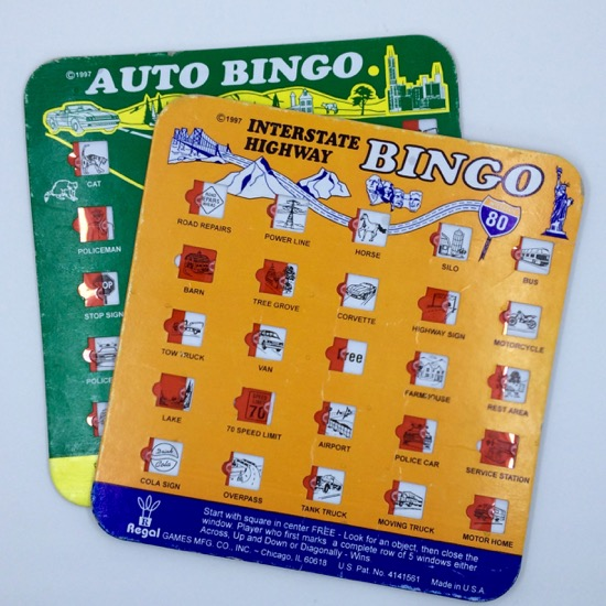 Mocadeaux - highway bingo