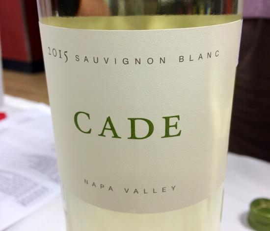 2015 Cade Sauvignon Blanc
