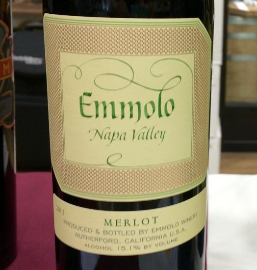 2013 Emmolo Merlot