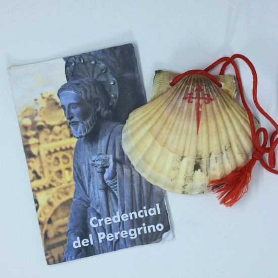 Camino passport and shell