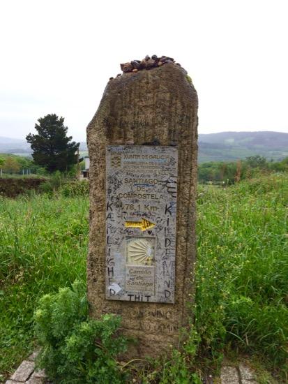 Camino old marker