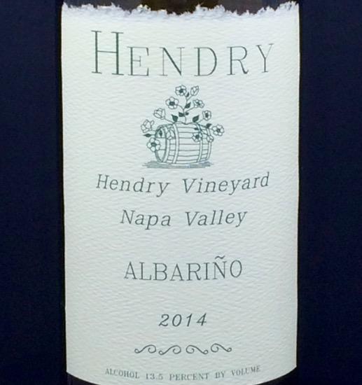2014 Hendry Albariño