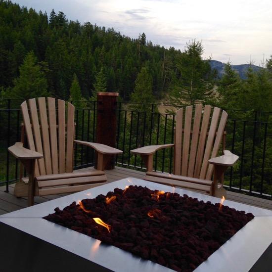 Montana fire pit brings joy
