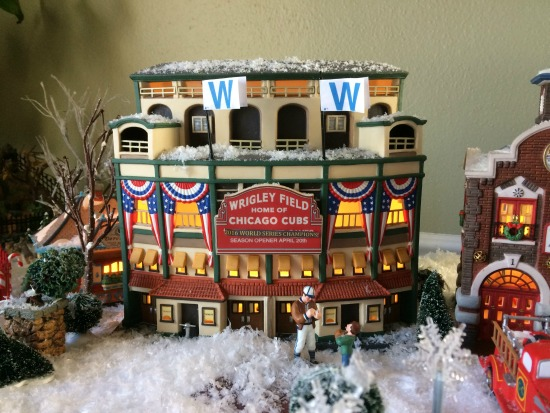 Christmas village W