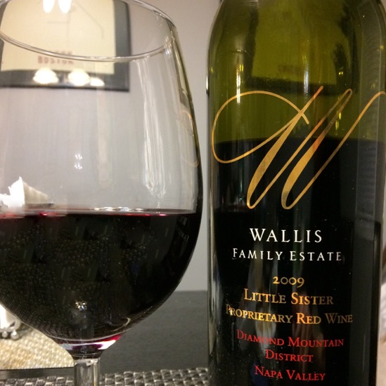 2009 Wallis Family Estate Little Sister Proprietary Red
