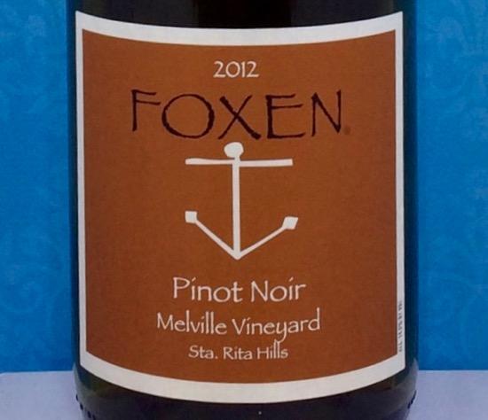 2012 Foxen Melville Vineyard Pinot Noir