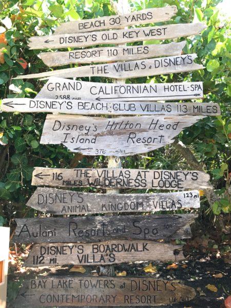 Disney Vacation Club locations