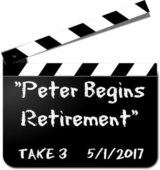 Peter Begins Retirement