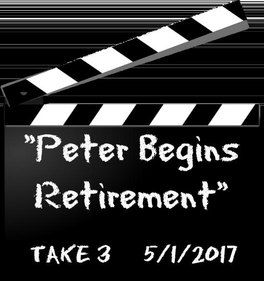 Peter Begins Retirement