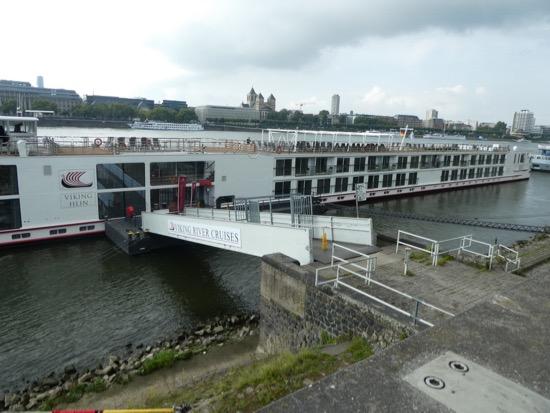 Viking Hlin at dock